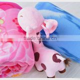 China Suppliers quilt blankets rebel wholesale plush baby toys knitted baby blanket