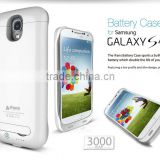 3000mAh Charger Case for Samsung Galaxy S4 i9500 External Battery Pack at factory price