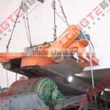 Suspension overband electro magnetic separator