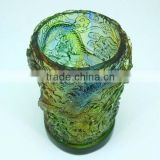 2013 new year gift good lead crystal office decoration and souvenir--- dragon pen container--BS166