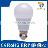 CE RoHS thermal conductive plastic 5w led bulb e14,cool white light led E27 cheap e14 led bulb
