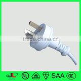 Good quality IRAM approval power plug, Argentina 3 pin electric plug with 3 core power cord