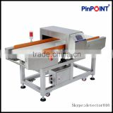 Pinpoint metal detector security chain conveyor stainless steel metal detector for food processing line