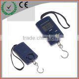 40kg/20g Digital luggage scale with LCD display blue backlit