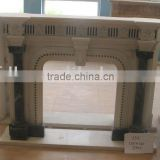 marble carving fireplace CF-BL441