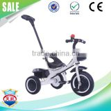 New model children baby tricycle toy with push bar cheap price wholesale