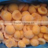 iqf yellow peach diced