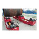 30T / 60T Hydraulic type Pipe Welding Rotators , Fit - up Tank Rotator / vessel for Cylinder