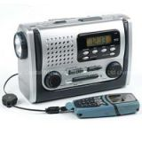 Earthquake DAB/FM Radio with Big Torch/Earthquake radio/producing power by crank/Charging Mobilephone