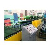 Straw Color Wave Tiles Making Machine , Reverse In Phase Running Tech Roof Tiles Machine