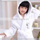 100% cotton child's hooded terry cloth bathrobe