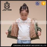 Hot Sale Customize Green Coat For Winter Kids Coats And Jackets