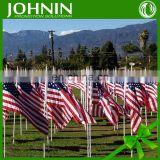 2015 hottest great quality OEM 100% polyester field marking flags