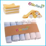 Baby Face Washers Hand Towels bamboo Wipe Wash Cloth 100% Soft bamboo Infant Baby
