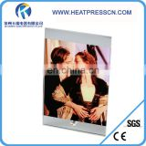 Sublimation Glass mirror Frame with Straight up and down