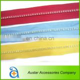 Colorful Crystal Diamante Gem Rhinestone zippers Wholesale