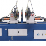SW38CNC Automatic double head bending frame machine