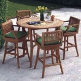 Brushed Usa Fireproofing Teak Outdoor Furniture Teak Outdoor Dining Table