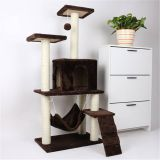 QUOTS FOR NEW DESIGN CAT CLIMBING FRAME/CAT TREE FOR CATS TO HIDE AND PLAY