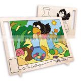 Promotional toy crow DIY drawing board