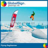 Shanghai GlobalSign Outdoor sale beach flag pole, feather flag, feather flying banner                                                                         Quality Choice