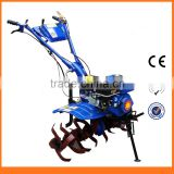 Light Hand Operated Compact Tractor Tiller