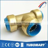 DZR lead free brass shark bite push in fittings for PEX CPVC PVC copper pipe                                                                         Quality Choice