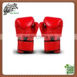 PU leather Muay thai boxing gloves