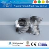 Spare Parts Screw Element for Twin Screw Plastic Extruder