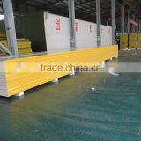 Stadium / library insulated fireproof roof and wall panel PU foam panel