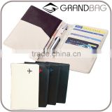 hot sale soft pebbled leather travel passport cover passport sleeve passport wallet