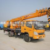 8 ton Truck Crane for sale/YUGONG BRAND with good price