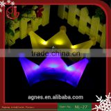 Hot Sale LED Headband Issuing Goddess Light Headgear Luminous Horn Hairpin Light UpToys Party Decoration Supplies