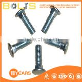 High quality half round head square neck bolts