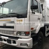 Made in Japan dump trucks Hino CWB good engine and quality guaranteed, also have used Isuzu trucks good price and strong pump