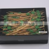 Fruits & vegetables decorative sticks/disposable bamboo skewers