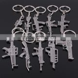 Gun Keychain rob game Cross Fire props imitation guns Keychain creative Keychain