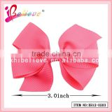 Wholesale handmade grosgrain ribbon alligator hair clip design