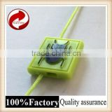 Fashional good quality plastic seal tag with logo string hang tag plastic custom shape dog tag