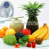 home use home ozone sterilizer fruit and vegetable washer with LCD display