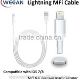 100% original MFi certified 8pin lightning cable for iphone 1m USB cable                                                                         Quality Choice