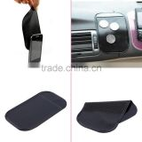cute and easy to use 100% Anti Slip Super sticky suction Car Dashboard magic Sticky Pad Mat for Phone PDA mp3 mp4