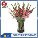 acrylic tall clear glass flower vase