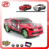 Musical and 3D flash light battery baby toy car
