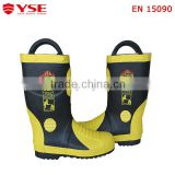 Steel midsole CE certificate Leather safety boots
