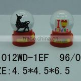 Snow globe polyresin snow water ball espana style