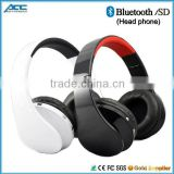 2015 New Bluetooth Wireless Stereo Headphone with Sd Card Slot