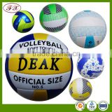 Promotional official custom size 5 volleyball ball&beach ball standard