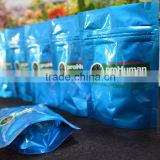factory manufacturering price zip lock custom printed resealable aluminum foil packaging bags