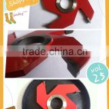 4 Wing Radius 5mm Cove Box Shape Cutter
